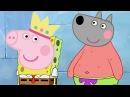 Свинка Пеппа Губка Боб квадратные штаны новые серии мультики для детей