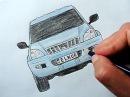 Toyota Prado masini nece cekilir Ehedov Elnur Как нарисовать машину Toyota Land Cruiser Prado