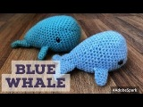 How to Crochet a Blue Whale Amigurumi - Easy Step by Step Tutorial