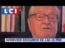 Jean-Marie Le Pen sur Marine Le Pen Ce n'est pas la colère qui m'anime, c'est la pitié