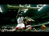 Michael Jordan Dunks on David Robinson! And Then Blocks Hakeem Olajuwon!