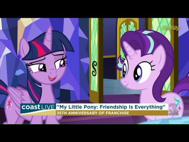 "Celebrating 35 years of My Little Pony with the voice of ""Twilight Sparkle"" on Coast Live (WTKR.com)"