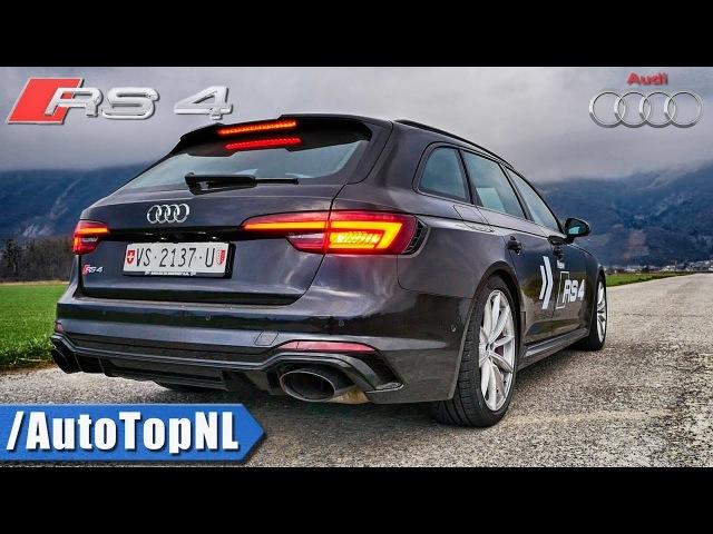 NEW! Audi RS4 B9 Avant Quattro 2.9 TFSI   Exhaust SOUND DRIVE by AutoTopNL