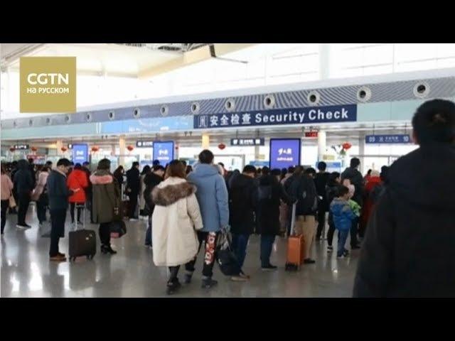 В Китае почти 11,5 млн человек воспользовались авиатранспортом во время праздничных каникул