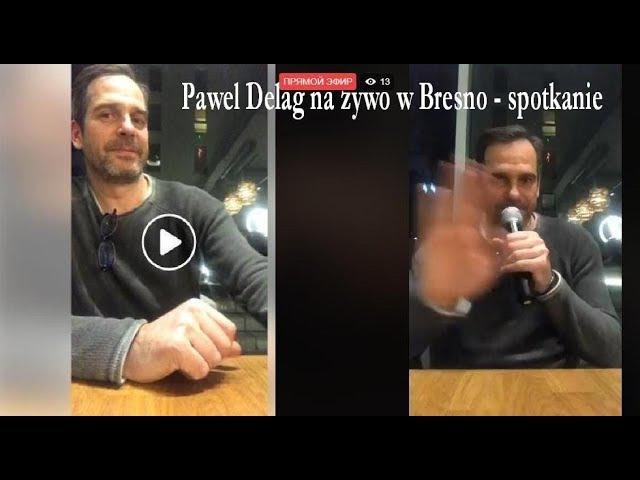 Paweł Deląg na w Bresno facebook live 3 part projekt Kultura 200 m Od Morza