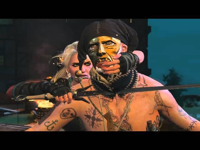 The Witcher 3 - Спасение Лютика Побег Цири из Новиграда
