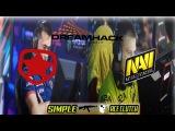GAMBIT VS NA'VI! (DREAMHACK WINTER OPEN 2017)