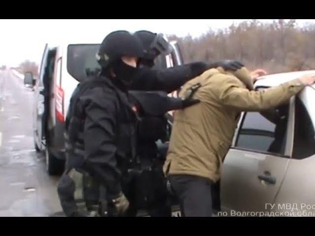 СОБР задержал на взятке чиновника оперативная съёмка