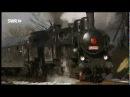 Ein tschechisch deutsches Wintermärchen Teil 2 Dampfromantik in der Abendsonne