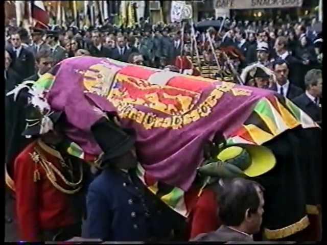 Begräbnis Kaiserin Zita 811