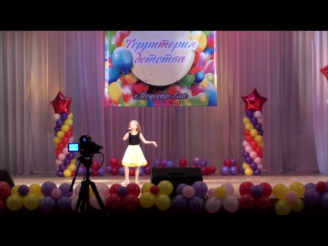 ЗВУКОГРАД фестиваль конкурс Территория детства 2017 Анна Курочкина Леди джаз