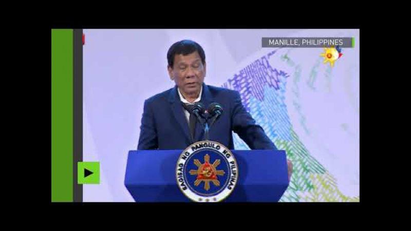 (182) «Ne venez pas me faire chier avec la souveraineté de mon pays», Duterte met L'UE en garde - YouTube