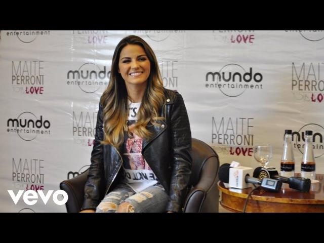 Maite Perroni - SBT Brasil (Entrevista)