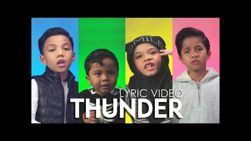 THUNDER - LYRIC VIDEO (Official) Gen Halilintar