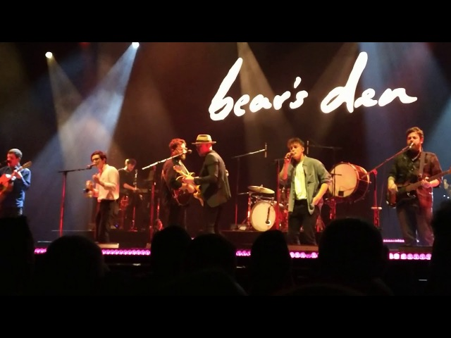 Bear's Den Friends - Free Fallin' (Tom Petty cover) (Antwerp, Belgium - Nov 17, 2017)