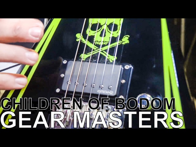 Children of Bodom's Alexi Laiho - GEAR MASTERS Ep. 171