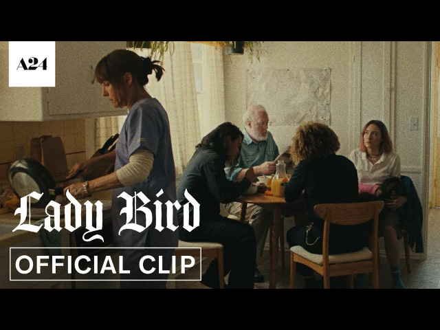 Lady Bird | McPherson Family Breakfast | Official Clip HD | A24