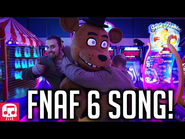 FNAF 6 Song by JT Music - Now Hiring at Freddys (Live Action Music Video)