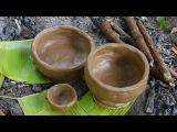 Primitive Technology   Pottery & Termite Clay Kiln