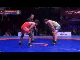 Asian Championships 2018: Hassan Aliazam YAZDANICHARATI (IRI) - Javrail SHAPIEV (UZB)