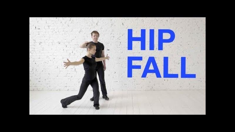 Hip fall Подъём бедра на demi plie