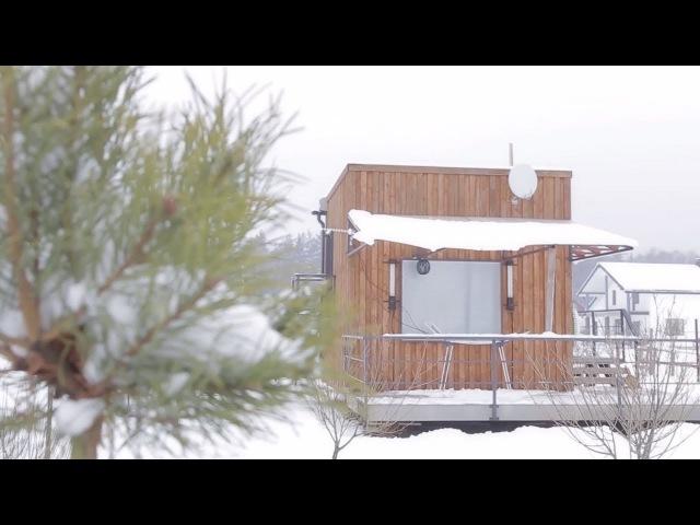 Внутри больше, чем снаружи семья из Белоруссии построила себе микродом