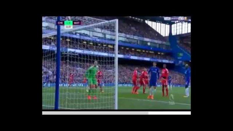 Pedro Rodriguez Fantastic GOAL - Chelsea vs Watford 1-0 (21/10/2017)