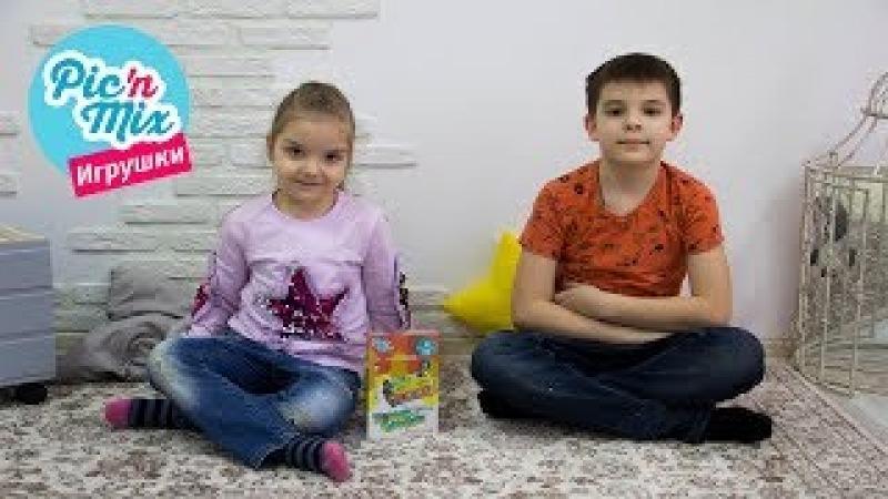 Колесо Бумеранг. Физика для малышей Пикнмикс. Видео с игрушками. Обучающий конструктор для детей.