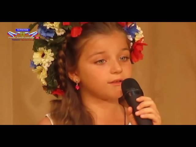 У моей России длинные косички! Милана Заволокина 7 лет Москва