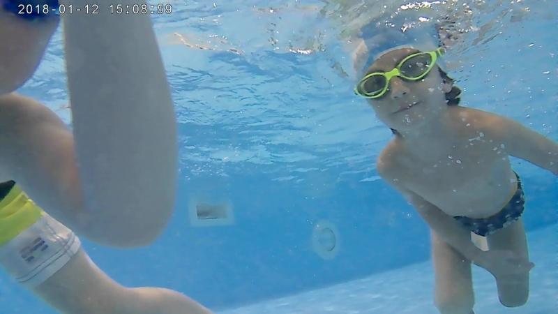 Тренировка по плаванию для детей с Евгением Аникеевым