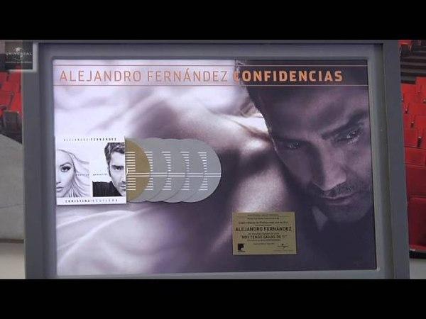 Alejandro Fernández Entrega Discos de Oro y Platino