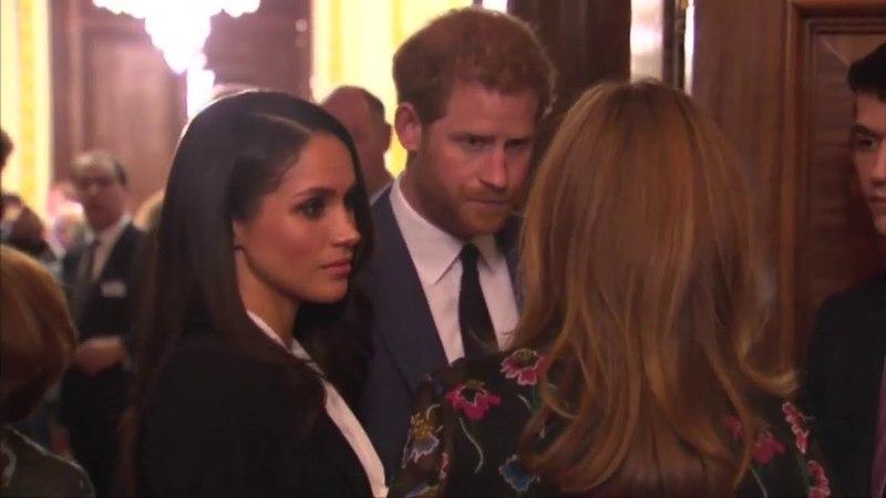 Принц Гарри и Меган присутствуют на церемонии награждения Фонда Эндевор