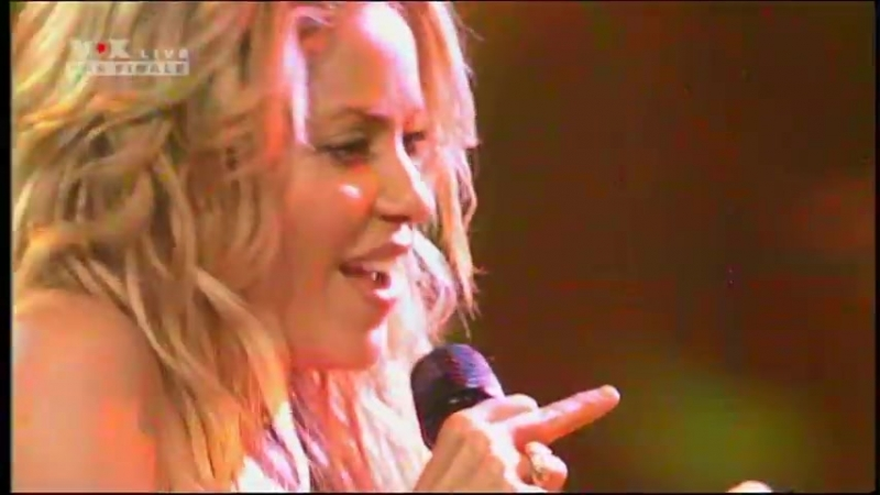 Shakira X Factor Germania Live Loca