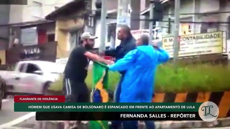 FernandaSalles Eleitor de Bolsonaro é espancado por militantes de esquerda