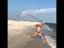 рыбачка супер заброс рыбалка большая рыба катушка приманка блесна воблер твистер проводка спиннинг