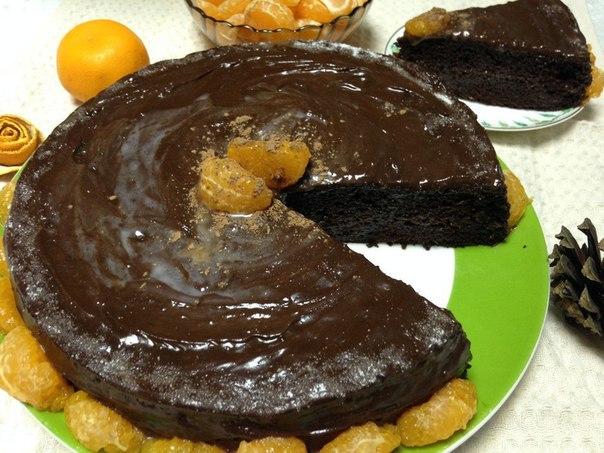 Торт «Волшебная ночь».