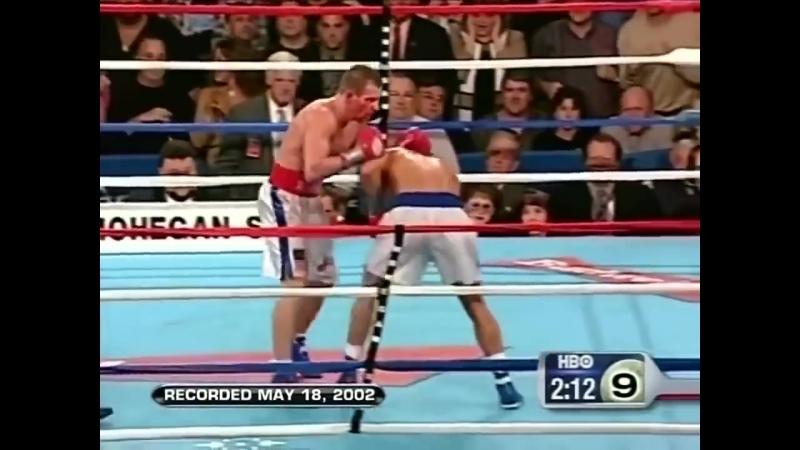 Один из лучших боев в истории бокса Гатти против Уорда