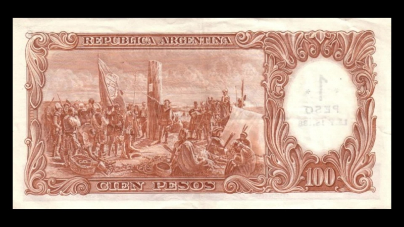 All Argentine Peso moneda nacional Banknotes_1969 Overprint Provisional Issue