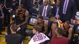 Uncut footage reveals a shocked Cavs bench as LeBron James, after JR Smith's mistake in Game 1