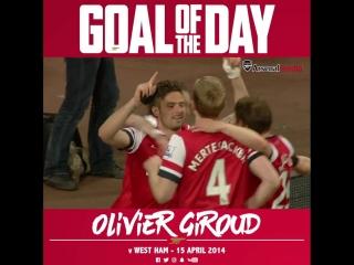 Goal of the Day: Olivier Giroud
