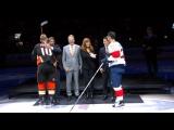 Honoring Paul Kariya and Teemu Selanne become members of the Hockey Hall of Fame