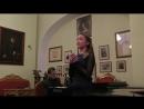 Анастасия Балака. Н.А.Римский-Корсаков. Сцена таяния Снегурочки. Концертмейстер - Г. Г. Мигунов