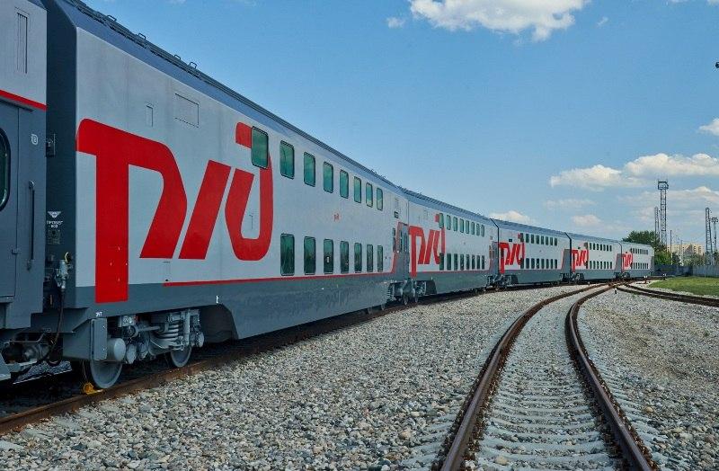 В Марий Эл приедут двухэтажные поезда
