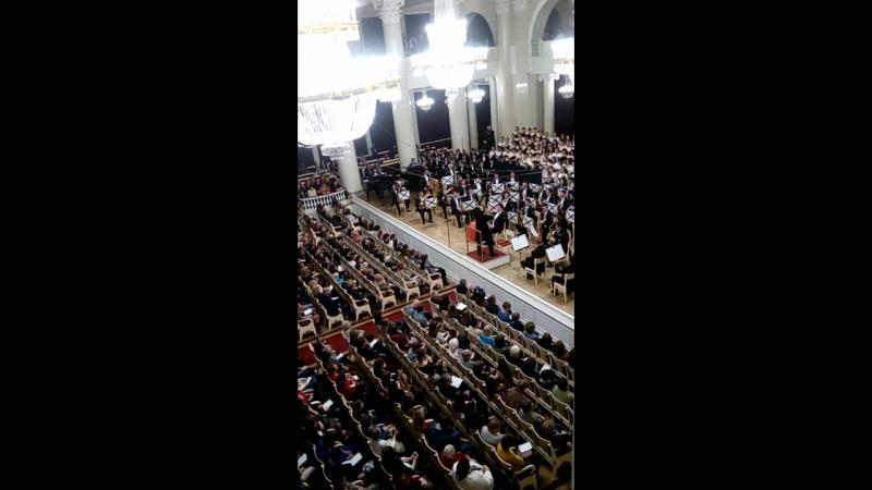 Кармина Бурана: О, Фортуна. Карл Орф, Филармония, 10.12.2017
