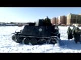 Немецкие танки едут тише чем наши жигули)
