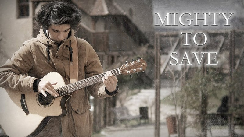 Mighty To Save - Hillsong Worship (Fingerstyle Guitar Cover by Albert Gyorfi) [TABS]