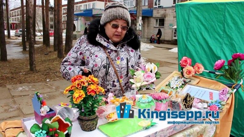 Ольга Черезова с Большого Бульвара Кингисеппа - наш универсал. KINGISEPP.RU