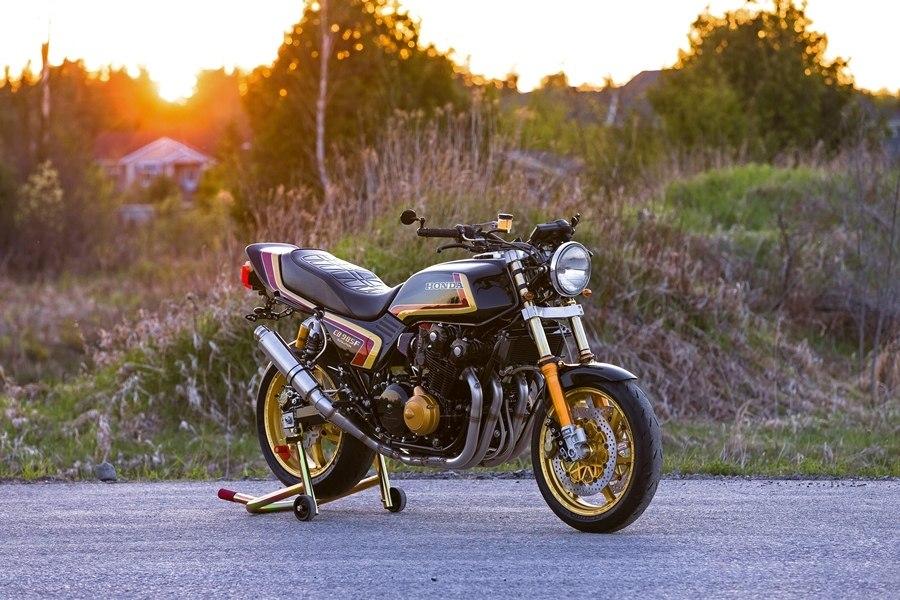 dB Customs: кастом Honda CB985F Evolution
