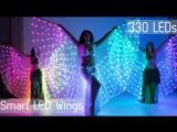 Пиксельные светодиодные крылья отETEREshop!