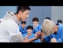 Arm wrestling li xi kan idol producer